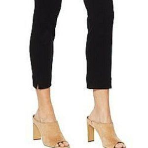 "Lyssé ""Britt"" Plus Black White Stretch Ankle Pants"